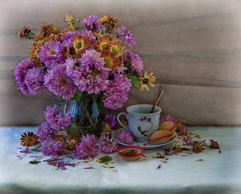 alone tea...