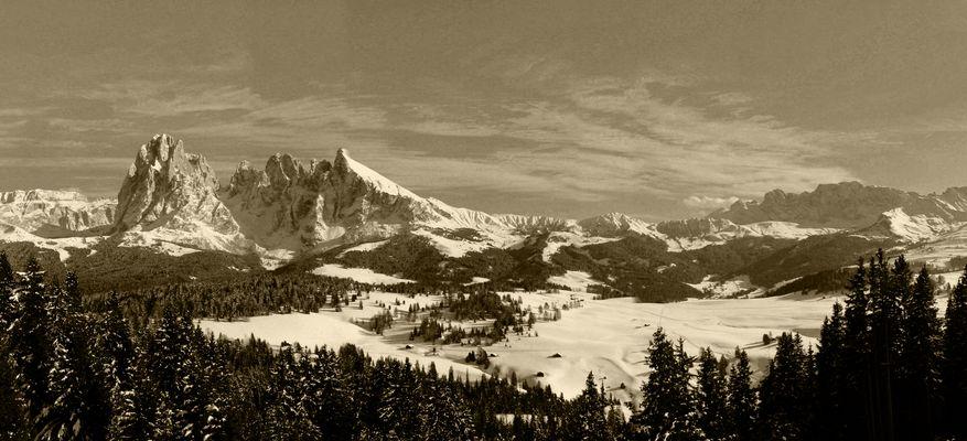 Alpe di Siusi_B&N