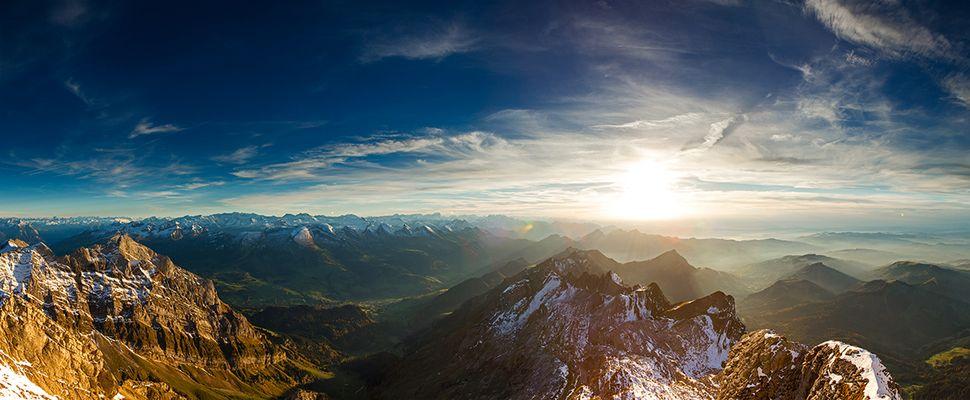 Alpen - Blick