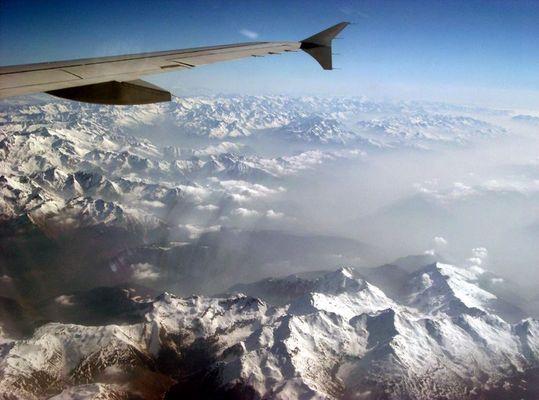 Alpen in X tausend Metern Höhe