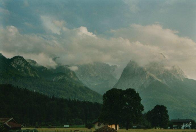 Alpen, Juni 2003