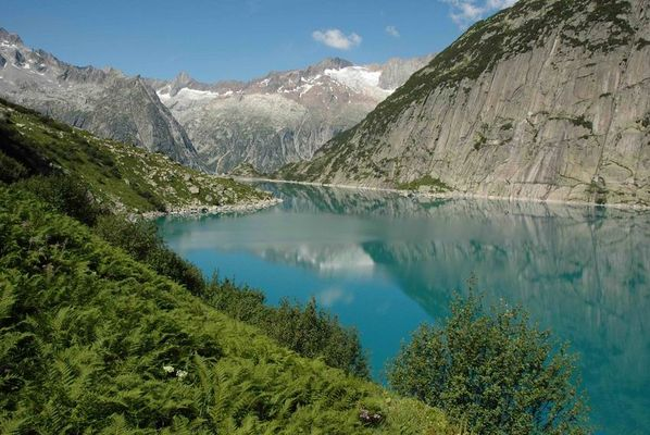 Alpen mit See