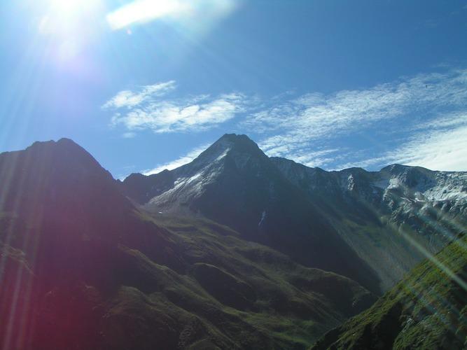 Alpen-Sonne