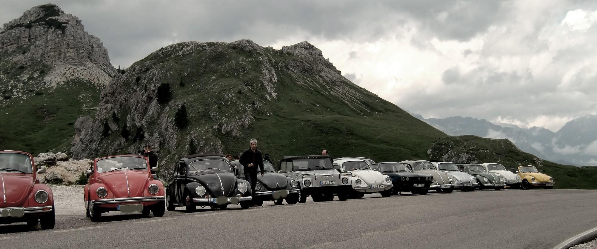 Alpen Tuor für Luftgekühlte Fahrzeuge & Freunde