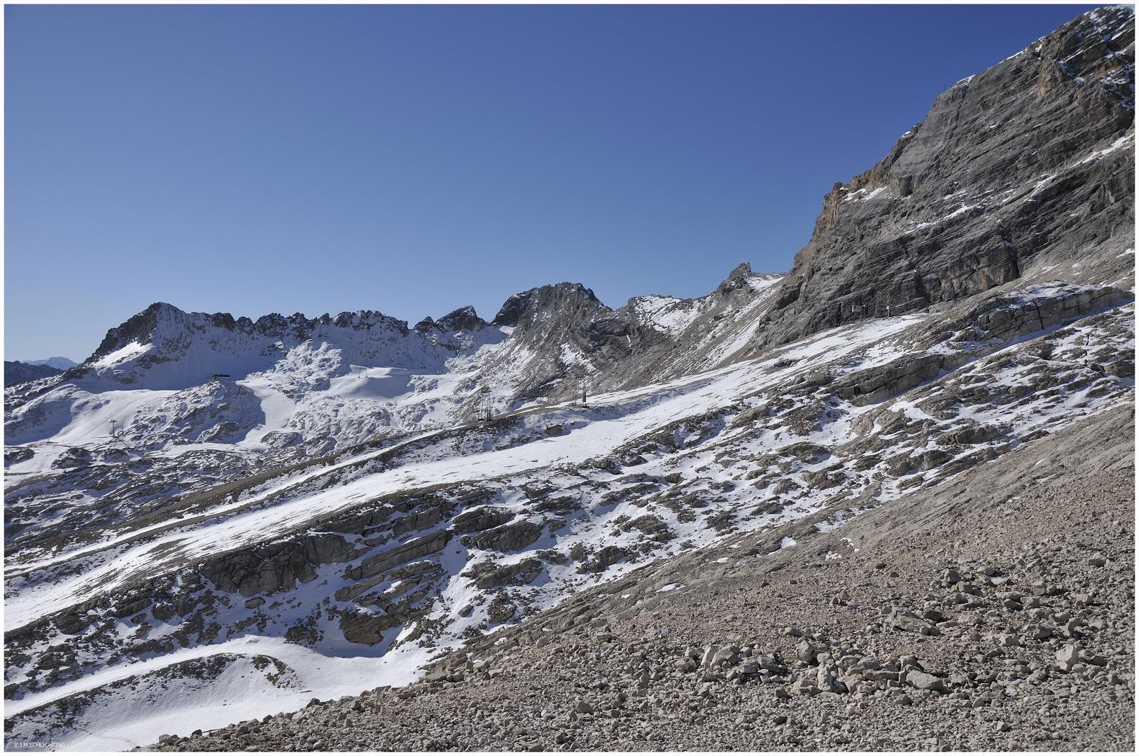 Alpen -Zugspitze-