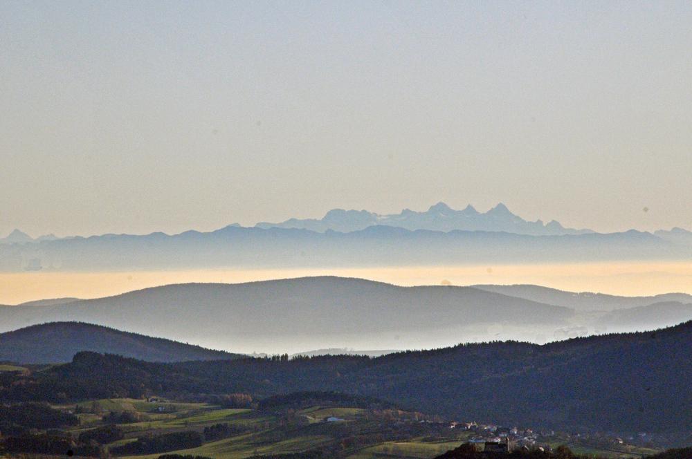 Alpenblick vom Haidel