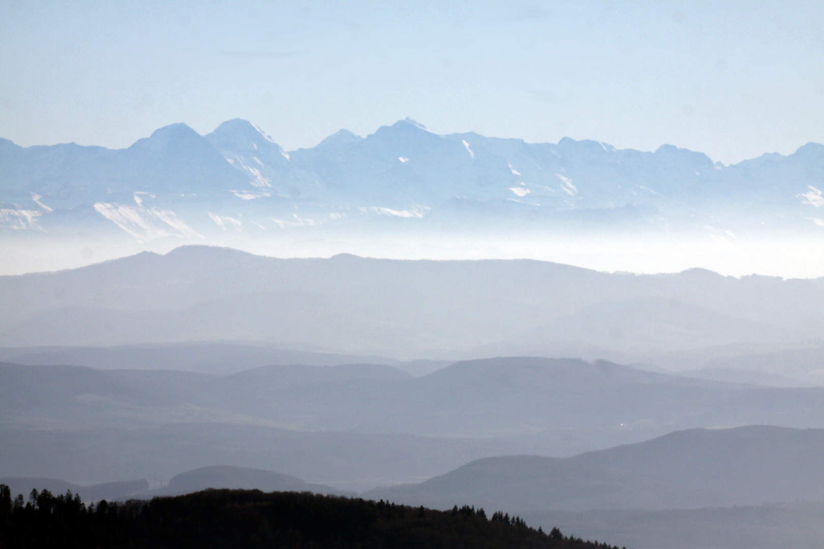 Alpenfernsicht