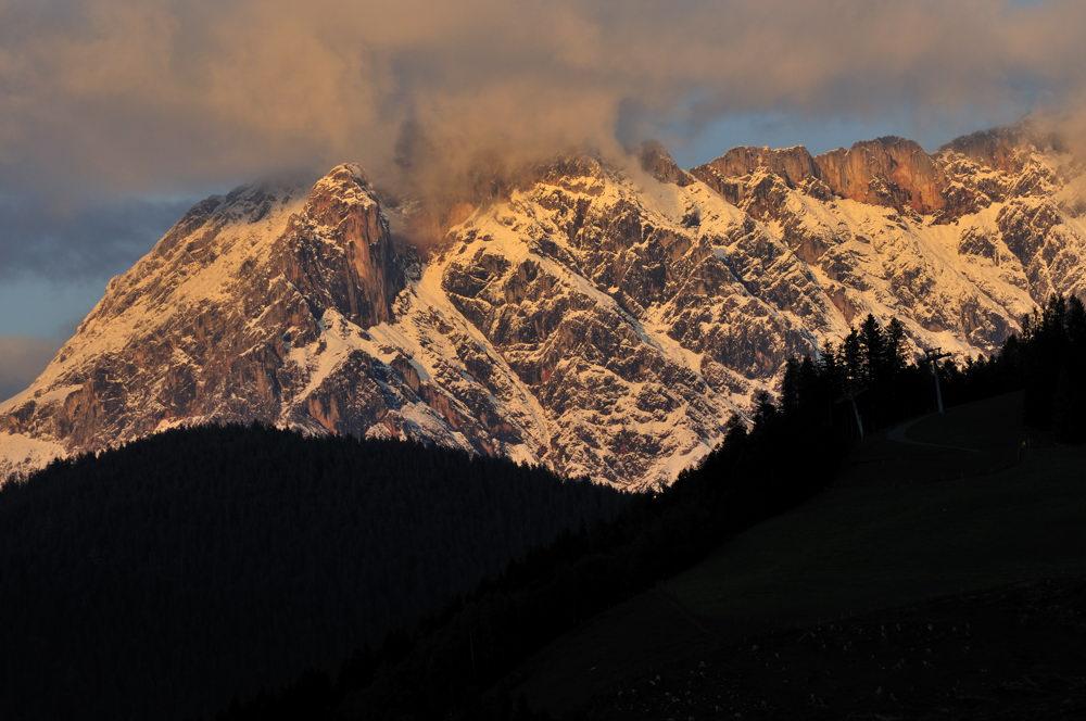 Alpenlandschaft..