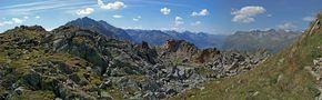 Alpenpanorama von Fred Marx