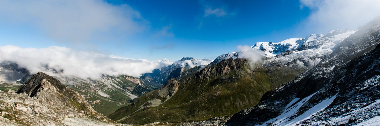 Alpenpanorama - Col d'Aussois 2.916 m