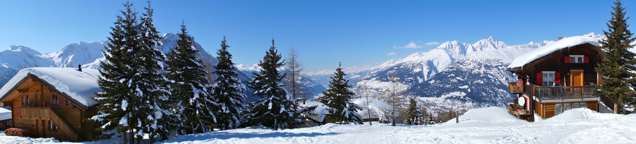 Alpenpanorama Rosswald