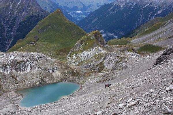 Alpenüberquerung September 2011