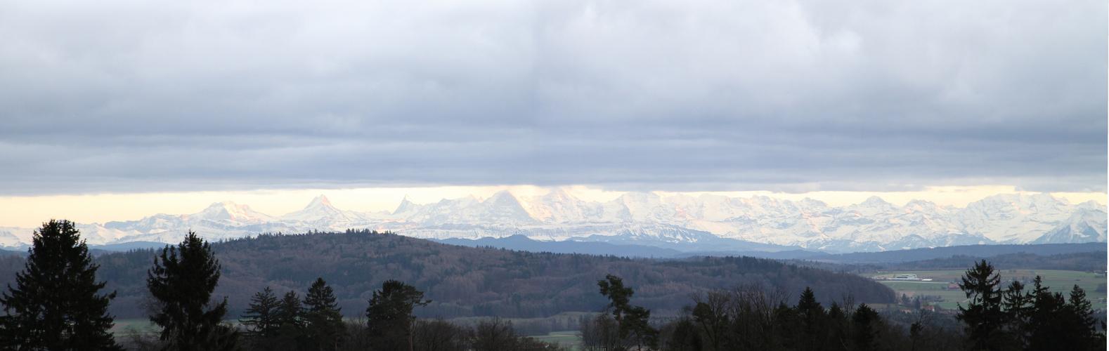 Alpes Suizos por mal tiempo