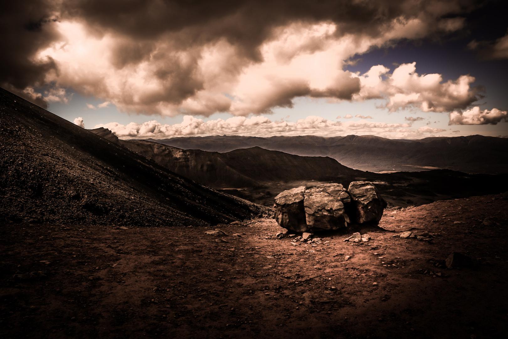Alpine Crossing Neuseeland