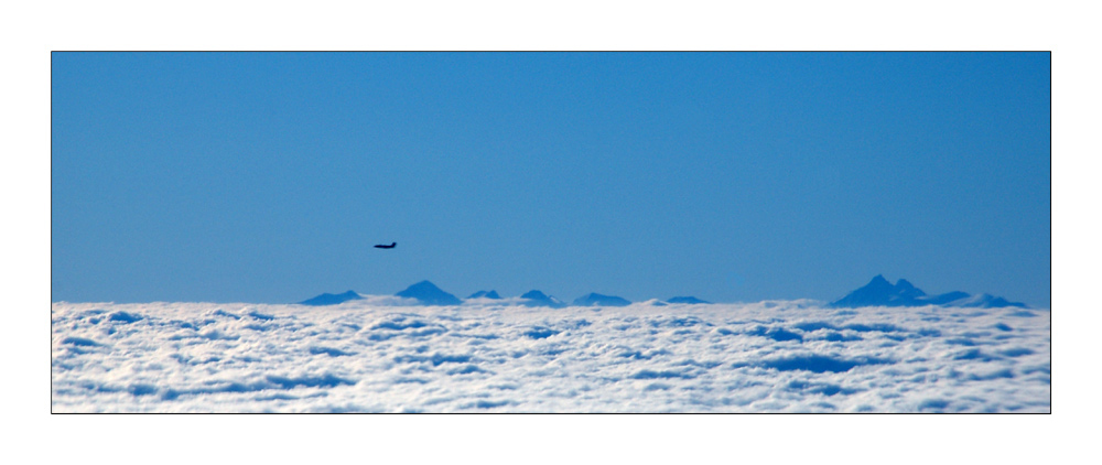 Alpine flight - Alpenflug