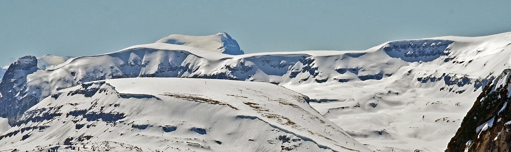 Alpine Glitzerlandschaft