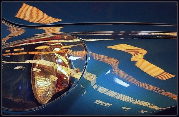 Alpine Renault A 110 Sc / Les phares 2