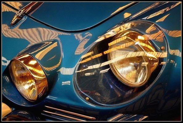 Alpine Renault A110 SC / 1973 / Les phares