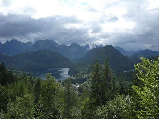 Alpsee in Füssen