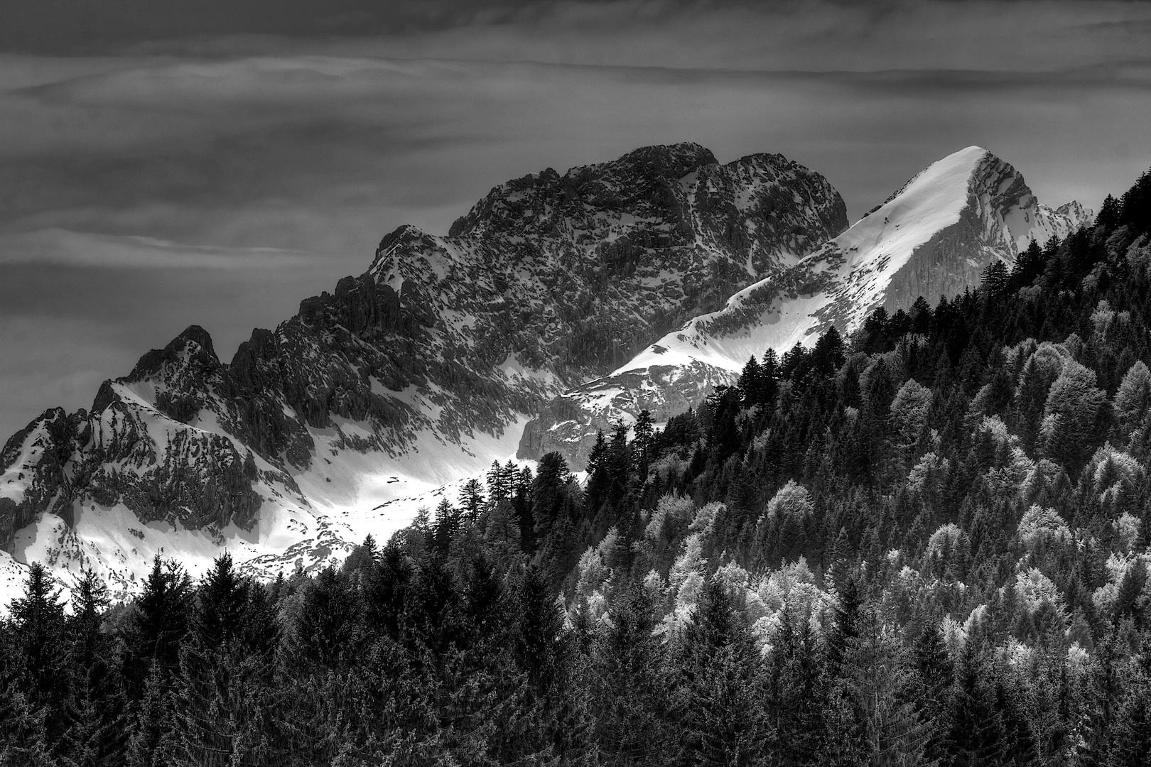 Alpspitz und Blassengrat