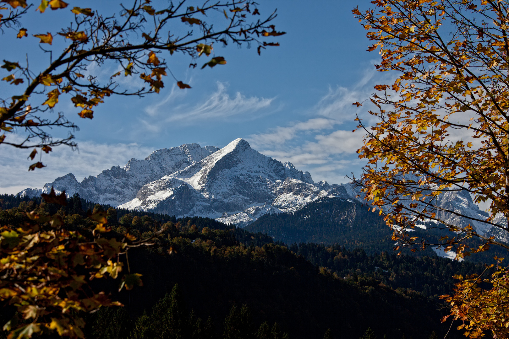 Alpspitze, Oktober 2013