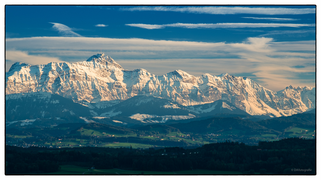 Alpstein im Herbst