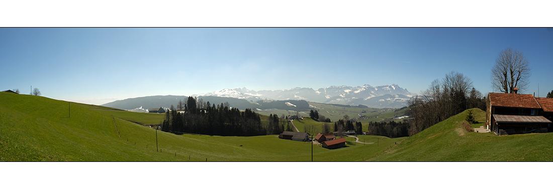 Alpstein Panorama (AR)