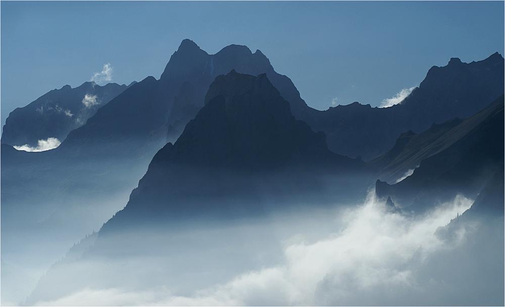 Alpstein-Silhouetten