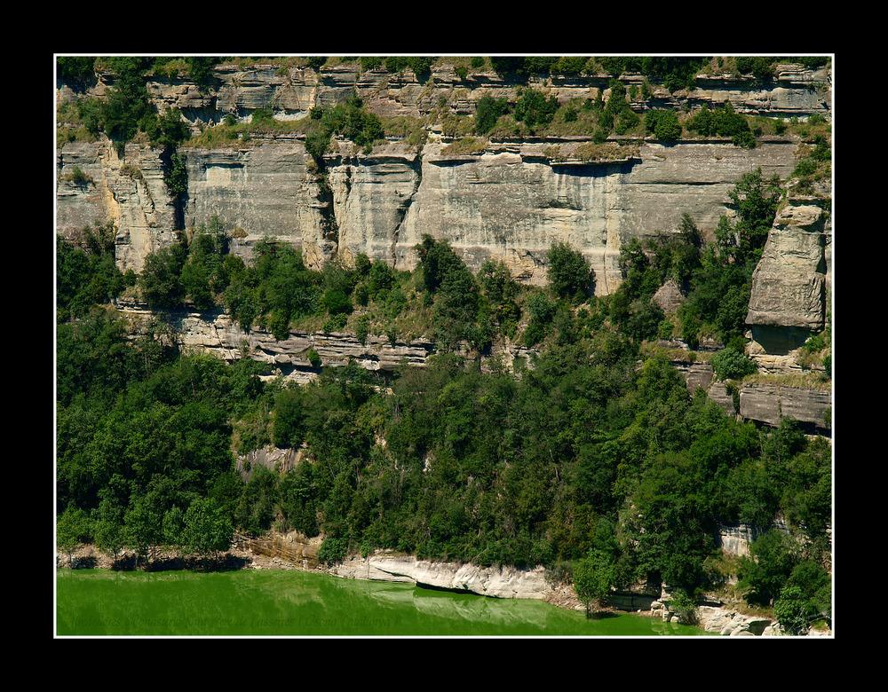 Alrededores Monasterio Sant Pere de Casserres ( Osona Catalunya )