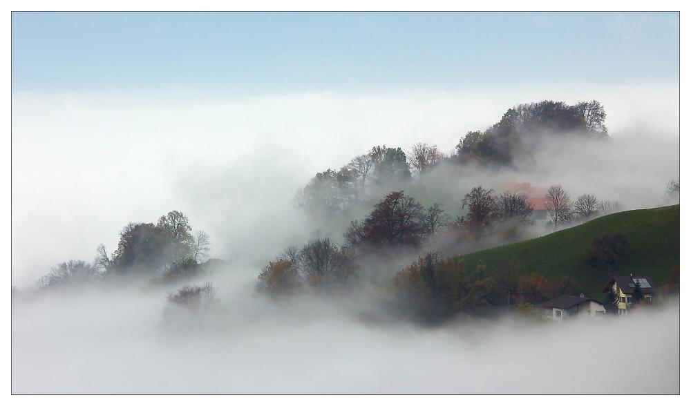Als der Nebel kam ...