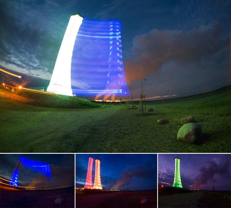 Als der Turm seine Farbe verlor...