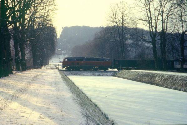 Als der Winter noch den Niederrhein besuchte...