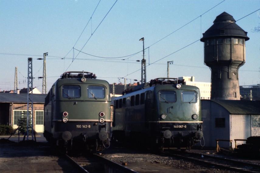 Als die Güterzuglokomotiven noch grün waren