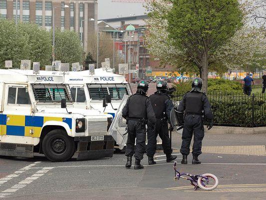 Als die Polizei kam
