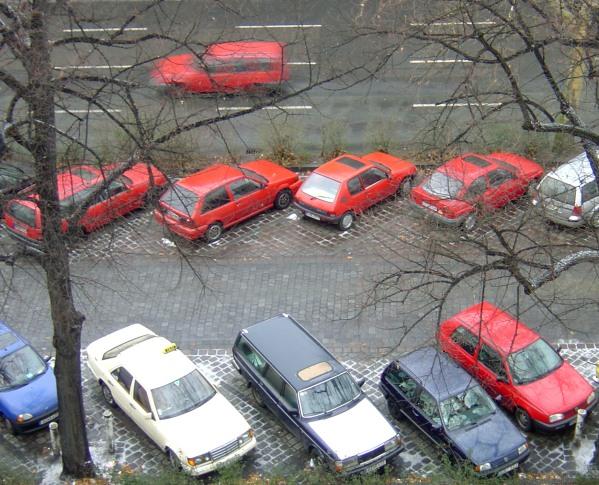 als die roten Autos sich anschickten, die Weltherrschaft anzupeilen