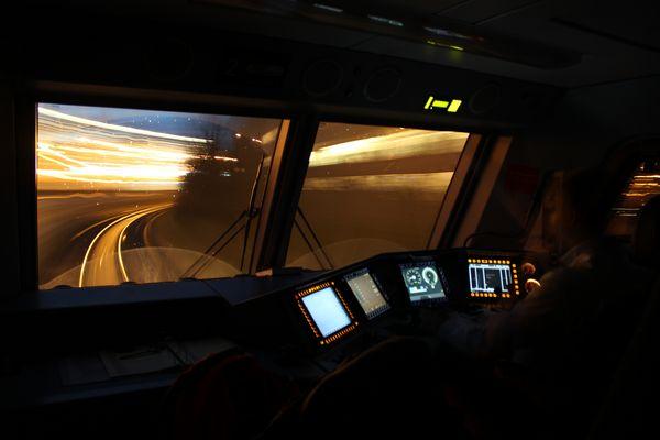 als die Schwarzwaldbahn in die Schweiz fuhr...