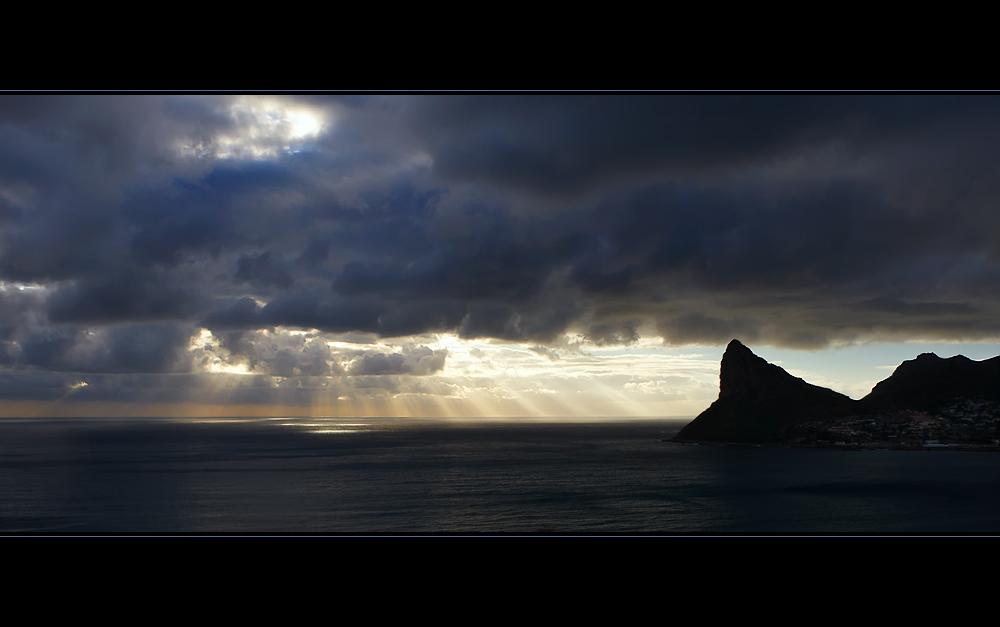 --- Als die Sonne das Meer wieder anstrahlte ---