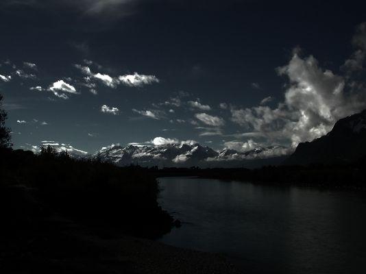 Als ein paar Wolken aufgekommen sind....