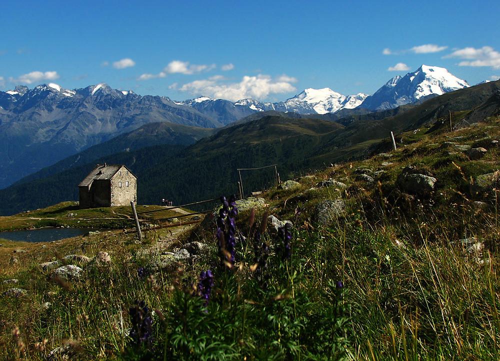 als Gott Südtirol schuf, wollte er angeben: hier der Beweis..