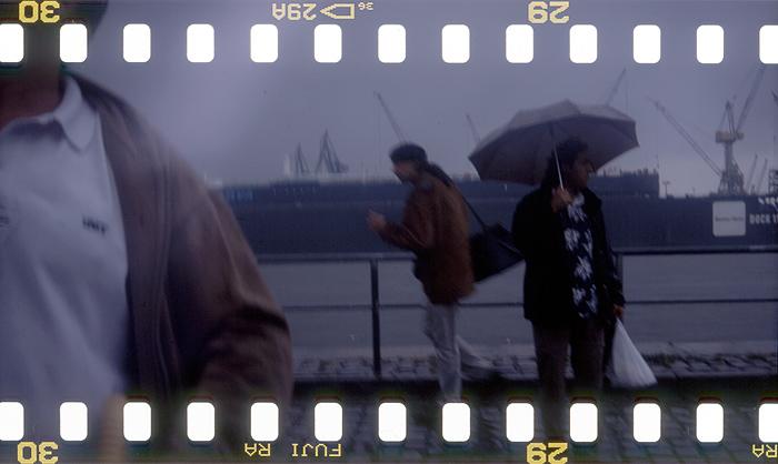 als ich das letzte mal auf dem fischmarkt war, regnete es