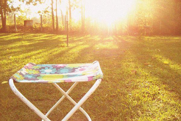 *als ich ein kleines Mädchen war, habe ich stundenlang die Sonne angeschaut...