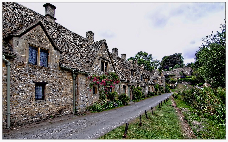 Als ich nach Rosamunde suchte ... Bibury in Cornwall (Südengland)