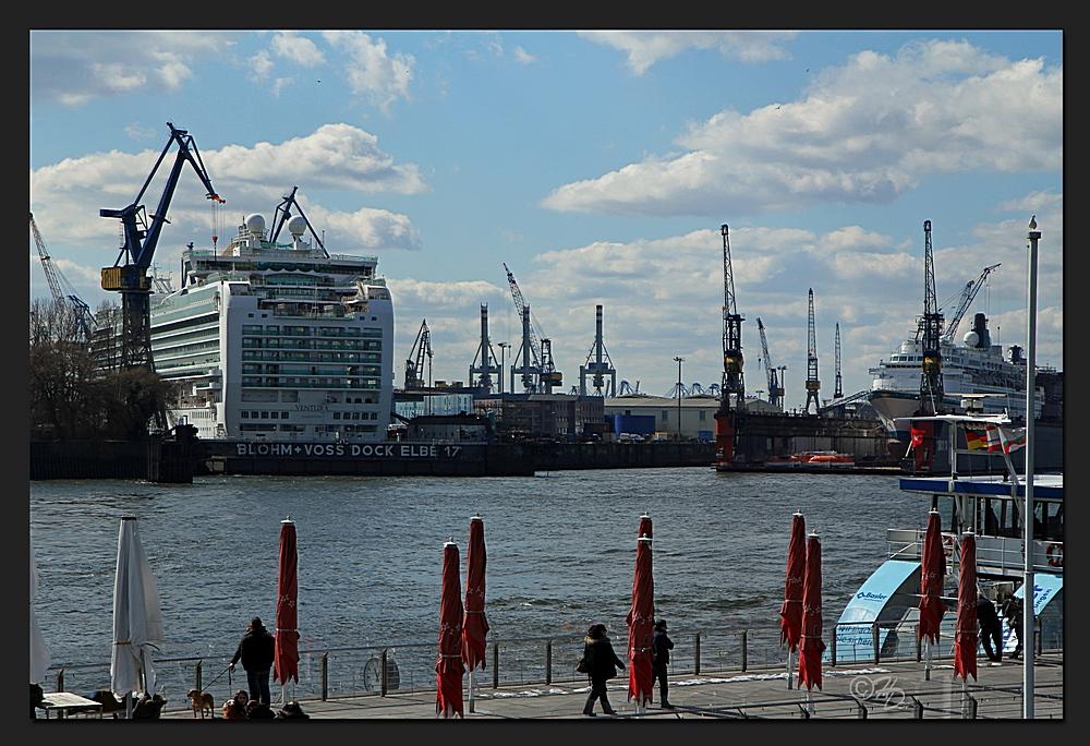Als in Hamburg mal Sonne war...