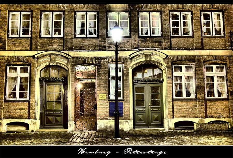 Alt-Hamburg - Peterstraße