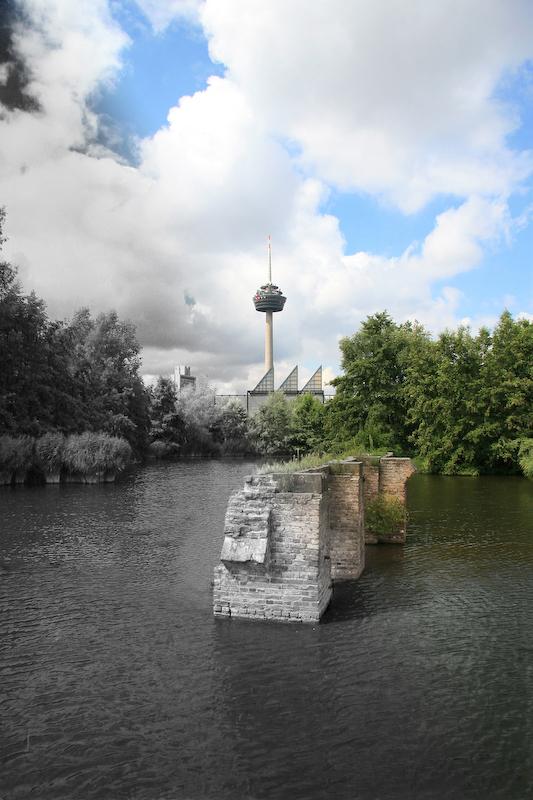 Alt und Modern am Mediapark