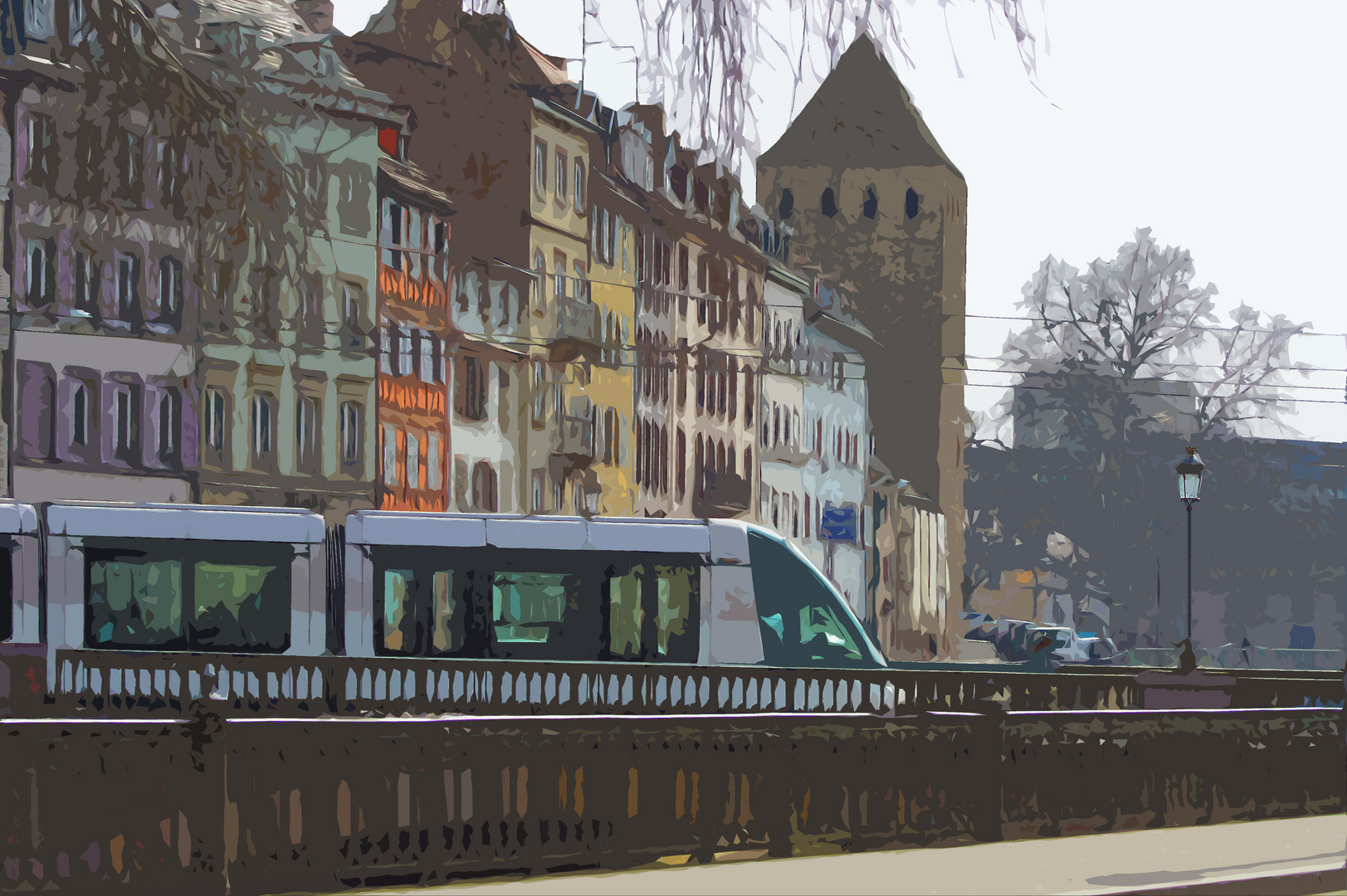 Alt und neu in Straßburg