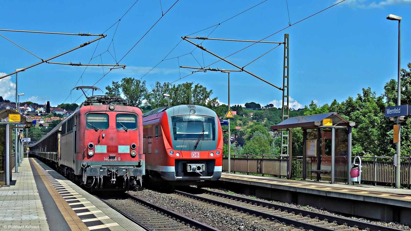 Alt und Neu in Wernfeld