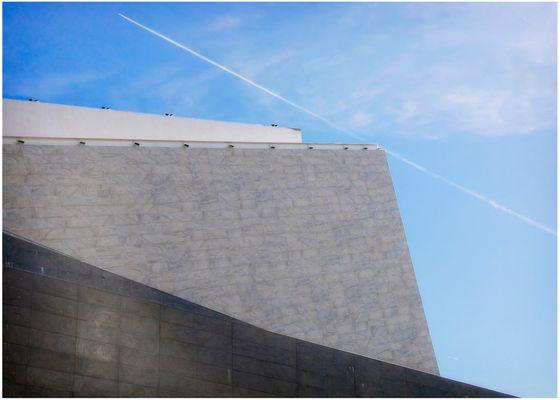Alta tangente sul Nuovo Teatro Comunale (Parco della Musica)