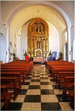 Altar de la Església de Sant Miquel de Balansat