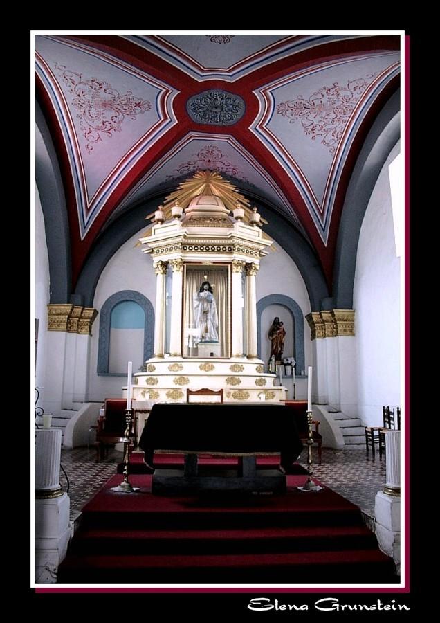 Altar de la Iglesia de Ocotepec
